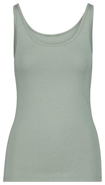 dameshemd katoen groen groen - 1000017959 - HEMA