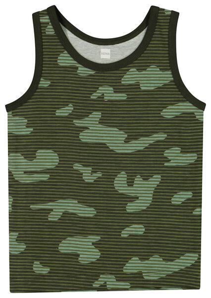 2-pak kinderhemden legergroen legergroen - 1000019758 - HEMA