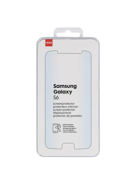 screenprotector Samsung galaxy s6 - 39630040 - HEMA