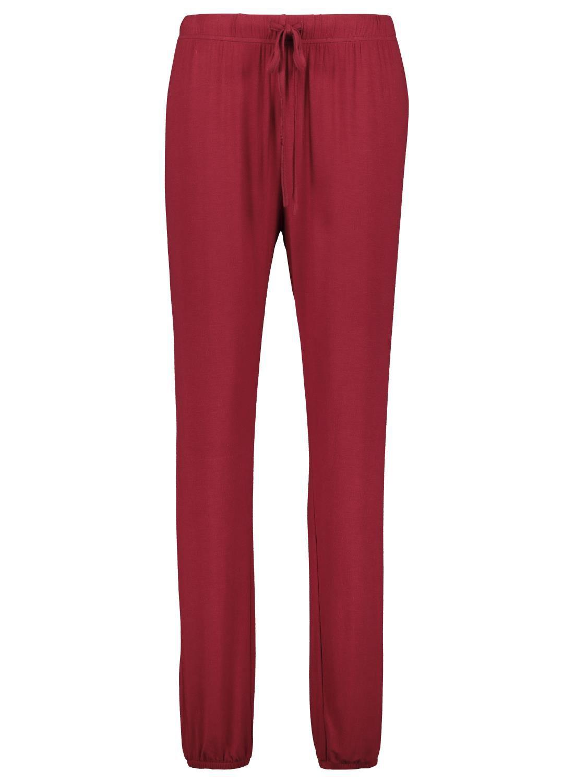 HEMA Dames Pyjamabroek Rood (rood)