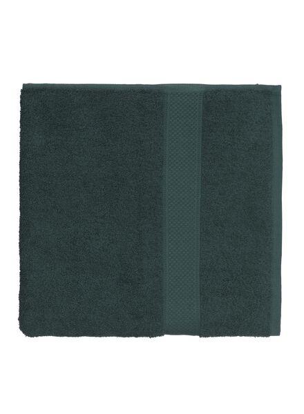 handdoek - 70 x 140 cm - zware kwaliteit - donkergroen donkergroen handdoek 70 x 140 - 5220015 - HEMA