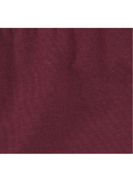 2-pak kinderleggings donkerrood donkerrood - 1000009826 - HEMA