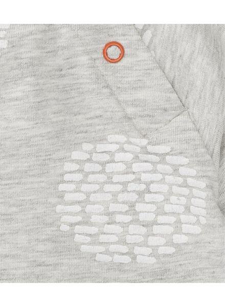 baby t-shirt lichtgrijs lichtgrijs - 1000008296 - HEMA
