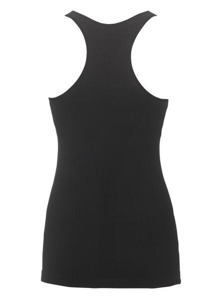 dames sport singlet zwart zwart - 1000012859 - HEMA