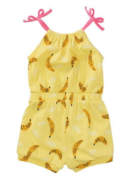 baby jumpsuit geel geel - 1000012187 - HEMA