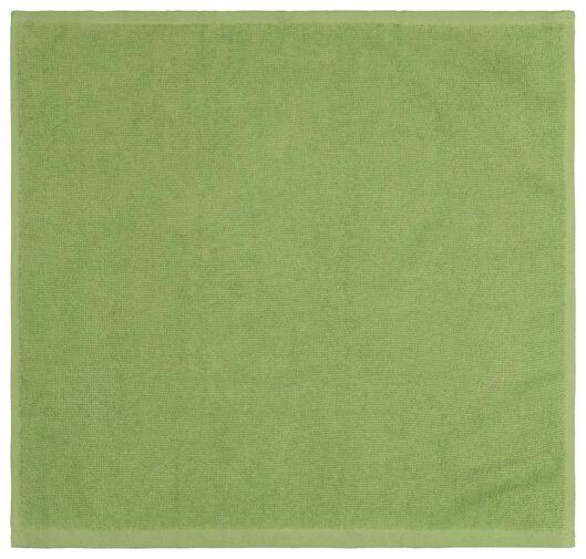 thee- en keukendoek - groen - 2 stuks - 5490060 - HEMA