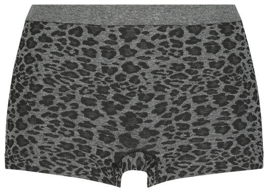 damesboxer naadloos grijs grijs - 1000019740 - HEMA