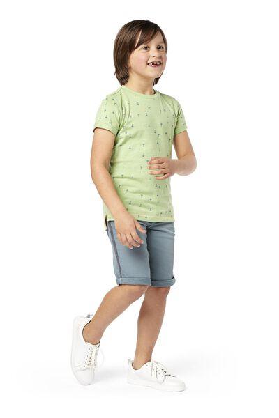 kindershort comfy fit groen groen - 1000018963 - HEMA