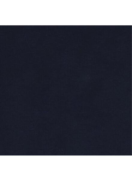 kinder t-shirt donkerblauw 110/116 - 30843658 - HEMA