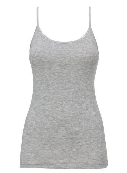 dameshemd grijs S - 19610491 - HEMA