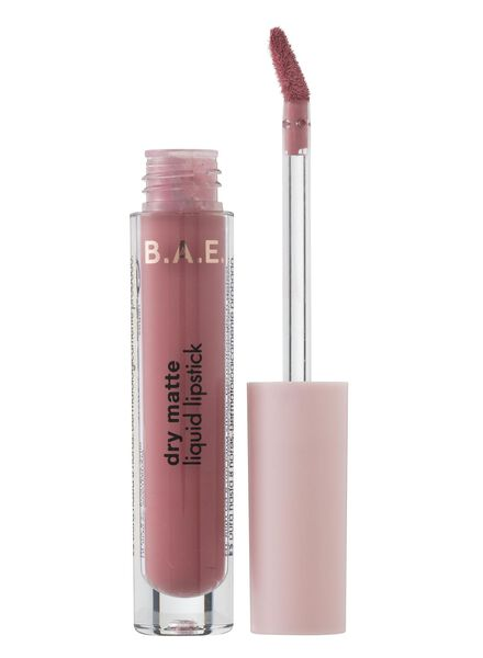 B.A.E. matte vloeibare lippenstift 03 true kiss - 17710043 - HEMA