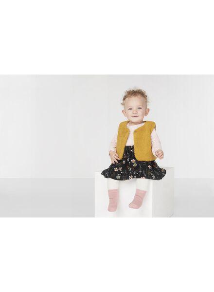 baby gilet okergeel okergeel - 1000010370 - HEMA