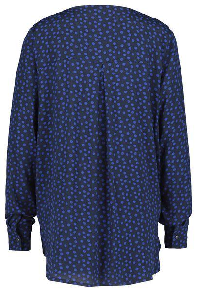 dames top donkerblauw donkerblauw - 1000021016 - HEMA