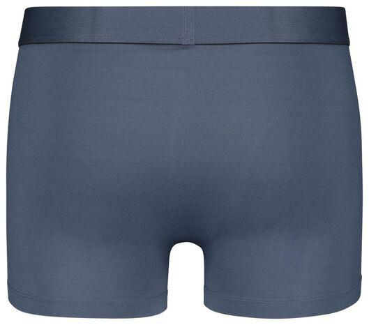 herenboxers kort - recycled micro/stretch 2 stuks blauw blauw - 1000022920 - HEMA