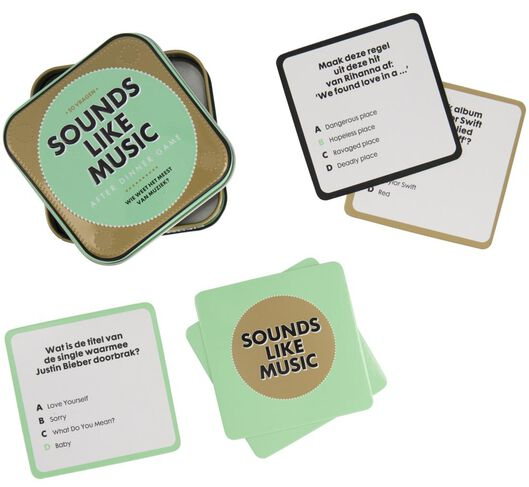 after dinner game - sounds like music - 61120224 - HEMA
