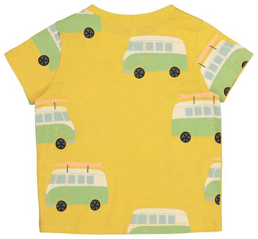 baby t-shirt geel geel - 1000019714 - HEMA