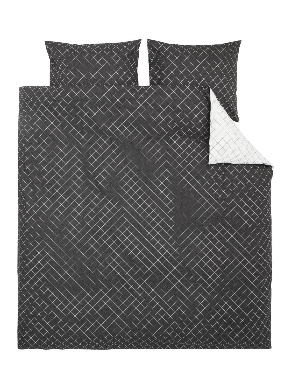HEMA Soft Cottton Dekbedovertrekset 200 X 200 Cm (gris)