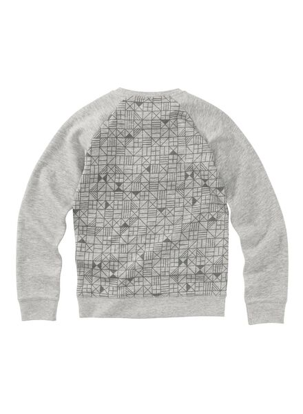 kindertrui grijs grijs - 1000008393 - HEMA