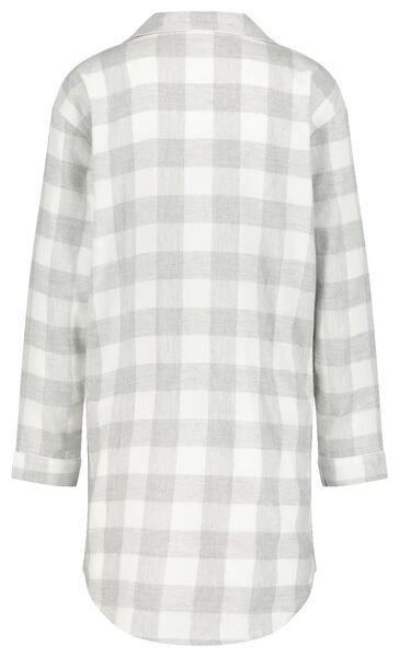 dames nachthemd grijs - 1000020265 - HEMA