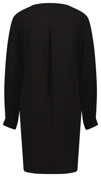 damestuniek zwart XL - 36330779 - HEMA