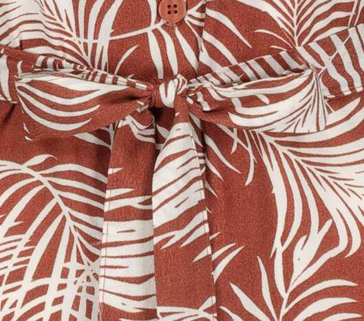 damesjurk bruin bruin - 1000019634 - HEMA