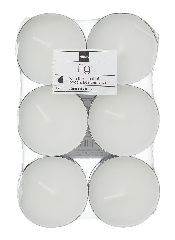 HEMA 12 pak Maxi Geur Sfeerlichten Fig