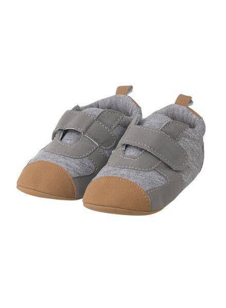 baby sneakers grijsmelange grijsmelange - 1000016850 - HEMA