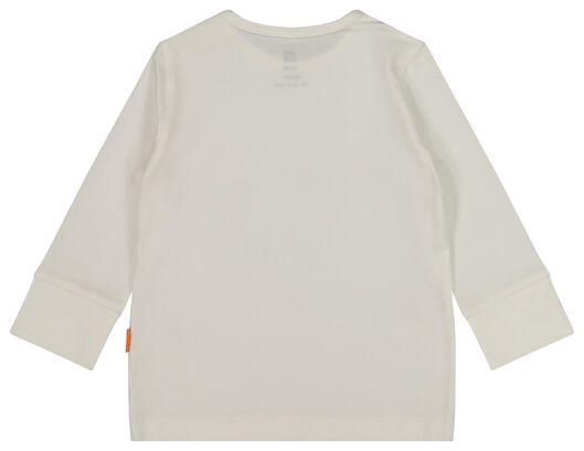 baby pyjama met bamboe lichtroze lichtroze - 1000018084 - HEMA