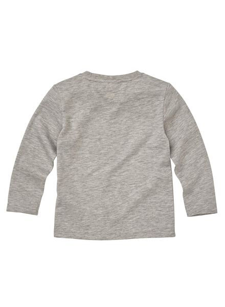 kinder t-shirt middengrijs middengrijs - 1000008588 - HEMA