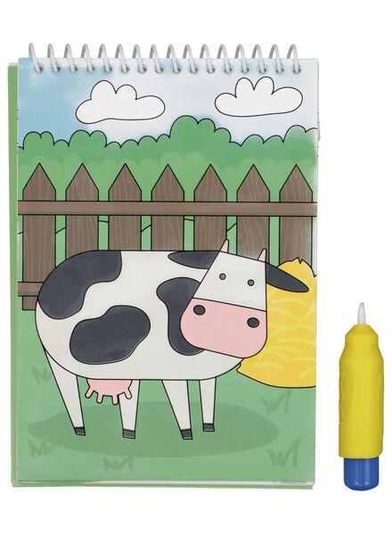 water kleurboek boerderij - 15990345 - HEMA