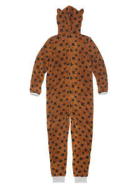 kinderonesie pyjama vos bruin bruin - 1000009041 - HEMA