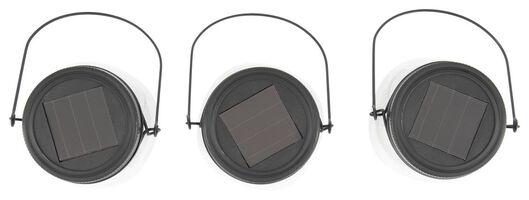 mason jar lamp solar - 3 stuks - 41810282 - HEMA