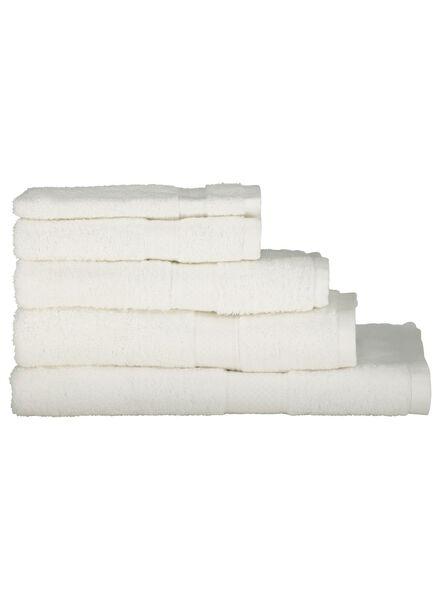 handdoeken - zware kwaliteit wit wit - 1000015178 - HEMA