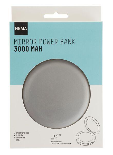 powerbank spiegeltje 3000 mAh - 39510132 - HEMA