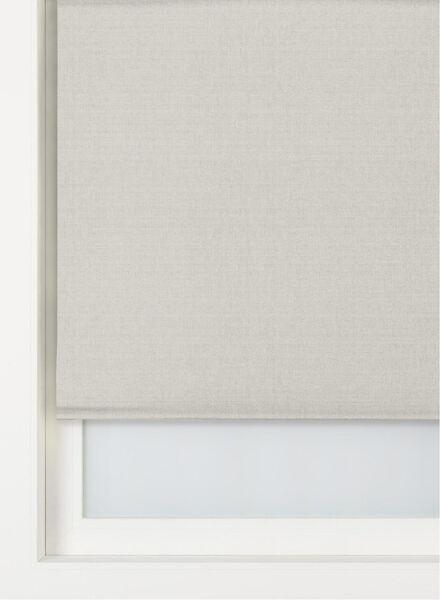 rolgordijn structuur verduisterend/gekleurde achterzijde lichtgrijs structuur verduisterend/gekleurde achterzijde - 7410666 - HEMA