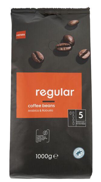 Koffiebonen regular 1000gram