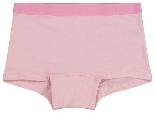 5-pak kinderboxers multi summer roze 98/104 - 19320411 - HEMA