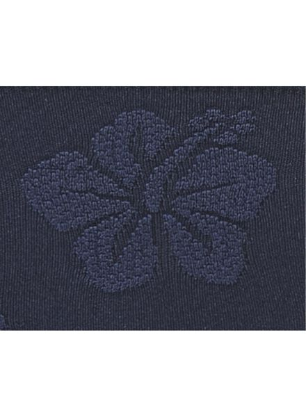 damesslip naadloos donkerblauw donkerblauw - 1000006520 - HEMA