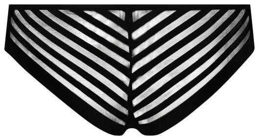 damesbrazilian micro zwart zwart - 1000018626 - HEMA