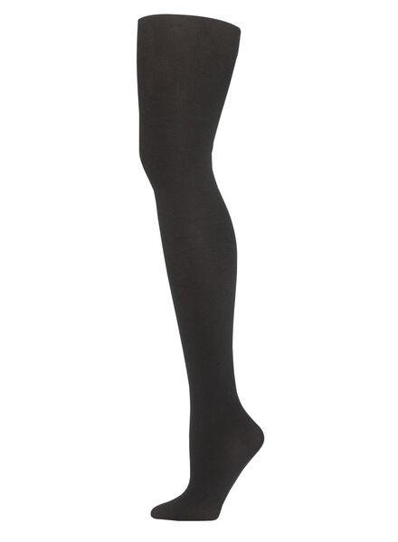 glitter panty zwart zwart - 1000001180 - HEMA