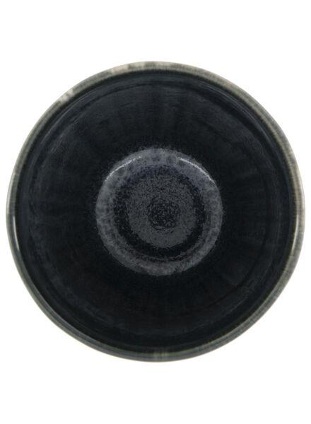 mok 8 cm - Porto - reactief glazuur - zwart - 9602033 - HEMA