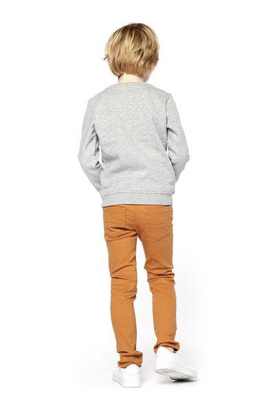 kindersweater grijsmelange grijsmelange - 1000017722 - HEMA