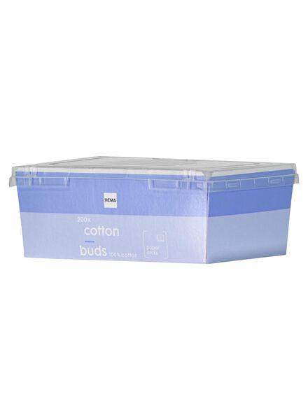papieren wattenstaafjes - 200 stuks - 11514162 - HEMA