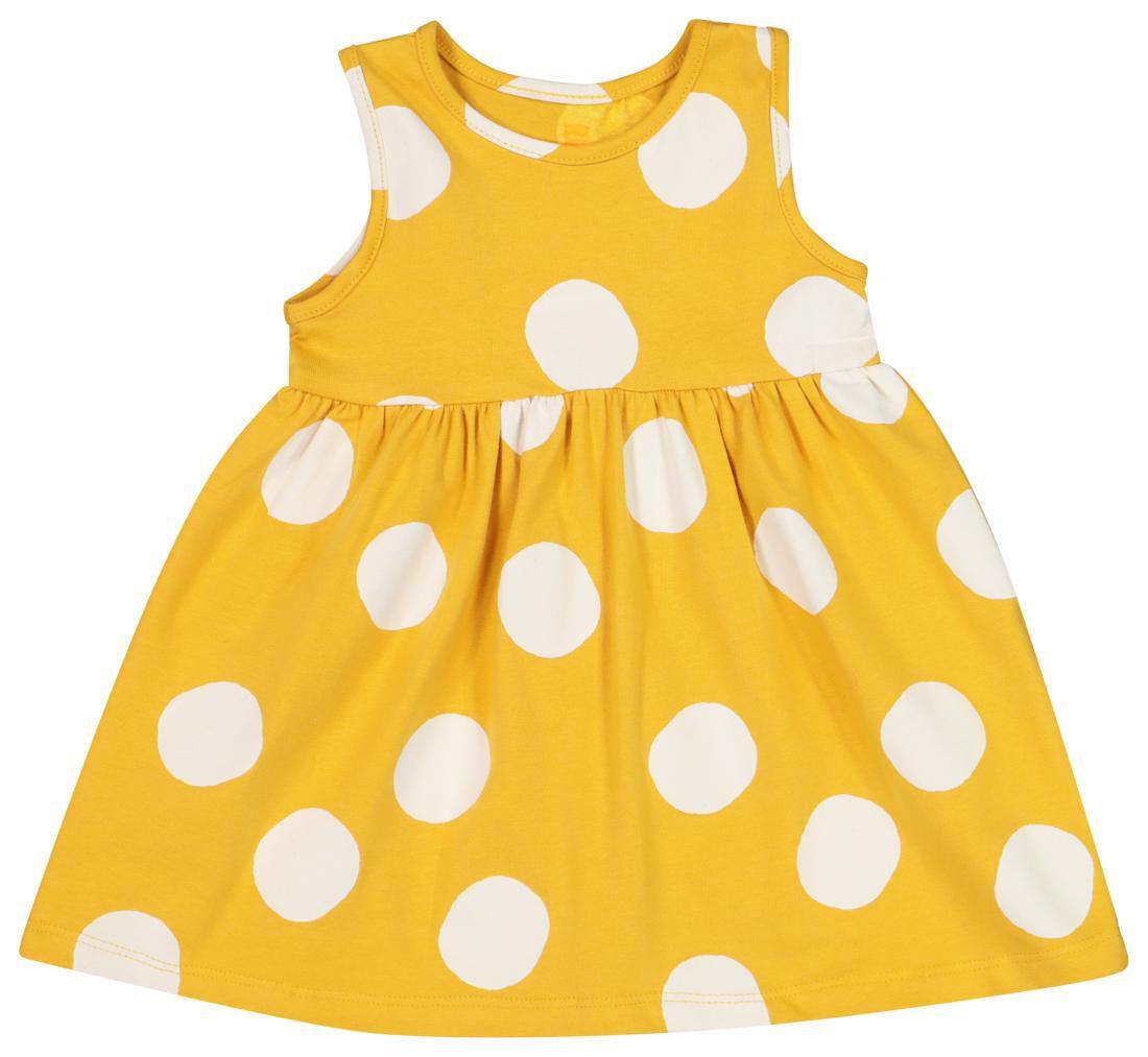 HEMA Baby Singletjurk Biologisch Katoen Geel (geel)