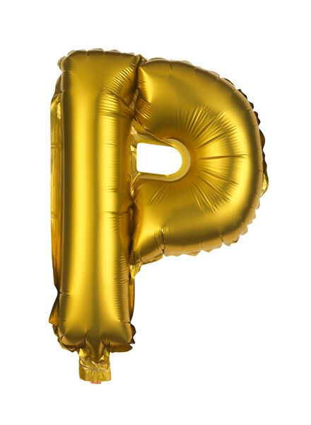 folie ballon P goud P - 14200254 - HEMA