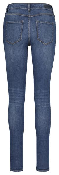 dames jeans - skinny fit middenblauw 36 - 36307521 - HEMA