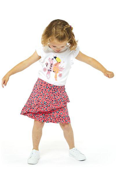 kinder t-shirt wit wit - 1000019063 - HEMA