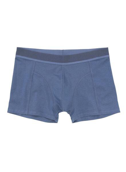 2-pak herenboxers bamboe donkerblauw donkerblauw - 1000012128 - HEMA