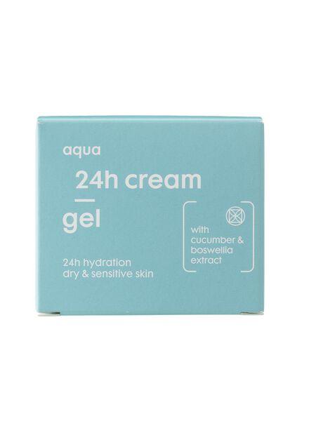 24 h gelcrème aqua - droge huid - 17870002 - HEMA