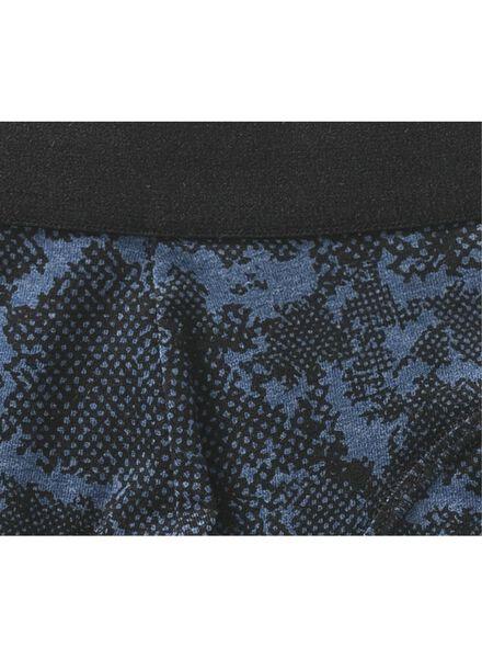 herenboxer kort blauw blauw - 1000009256 - HEMA